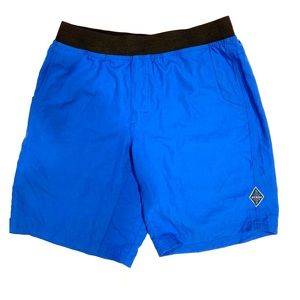 Prana blue athletic shorts